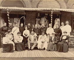 Group at Residency [including the Maharaja of Kolhapur].